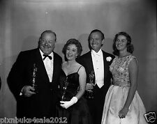 "1959 orig 4/5"" neg Academy Awards Burls Ives Susan Hayward Niven Ingrid Bergman"