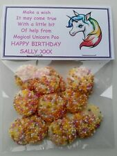 Magical Unicorn personalised  Poop  Birthday Gift Novelty