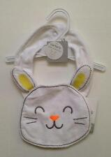 NWT CARTER'S BABY BUNNY BIB  ~ ONE SIZE ~ free shipping to US