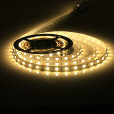 5M 5050 SMD Warm White 300 Led Strip Light Non-waterproof Car 12V 16.4ft