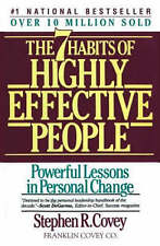 The 7 Habits Of Highly Effective People by Stephen Covey FREE SHIPPING