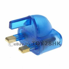 UK/Ireland Travel Adapter British Type G Power Mini Plug Adapter