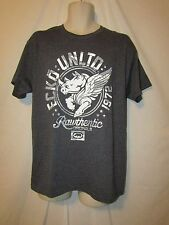 mens ecko unltd t-shirt M nwt winged rhino gray