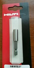 Hilti 50mm bit holder, Makita, Dewalt, bosch,  1st class post, Fast dispatch !