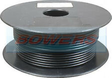 30M METRE ROLL/REEL BLACK SINGLE CORE CABLE/WIRE 60.00AMP 120 STRAND 8.5MM²