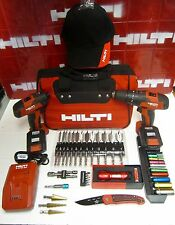 HILTI SFD & SF 2H-A DRILL COMBO, NEWEST MODEL, DURABLE, FREE EXTRAS, FAST SHIP