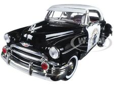 1950 CHEVROLET BEL AIR CALIFORNIA HIGHWAY PATROL (CHP) 1/18 BY MOTORMAX 79007