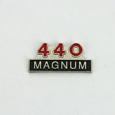 Dodge Mopar 440 Magnum Logo US Muscle Car Button Hat Pin Anstecker Anstecknadel