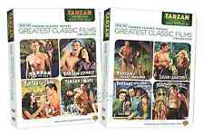 Tarzan Complete Volumes 1 & 2 TCM Johnny Weissmuller Series Box / DVD Set(s) NEW