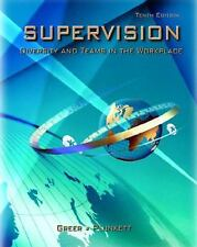 Supervision: Diversity and Teams in the Workplace (10th Edition), Charles R. Gre