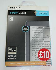 GENUINE BELKIN ANTI-GLARE SCREEN GUARD FOR KINDLE/KINDLE TOUCH & KINDLE KEYBOARD