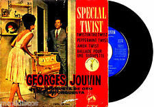 "7"" - GEORGES JOUVIN (SPECIAL TWIST) EP 4 TRACKS SPANISH PRESSING 1962 MONO SOUND"