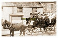 rp13929 - Stage Coach in Penzance , Cornwall - photo 6x4