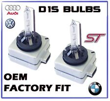 2x D1S factory fitted Xenon HID Replacement Bulbs 6000k BI XENON OEM BMW AUDI