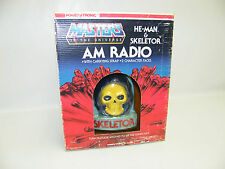 Motu he-Man Skeletor radio rara vez Nasta 1985 Masters of the Universe mattel OVP