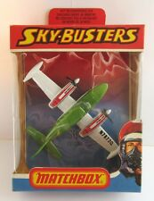 Matchbox Skybusters SB-9 Cessna 402 - Green/White - Mint/Boxed