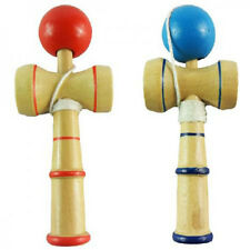 1pc Kid Kendama Ball Japanese Health Traditional Wood Game Balance Skill Toy WB