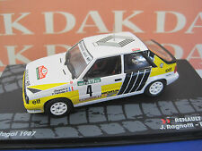 Die cast 1/43 Renault 11 Turbo Portogallo 1987 J.Ragnotti by Ixo