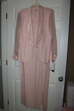 J R Nites Formal gown Plus sz 22W Pink Mother of the Bride/Ball gown (00211)