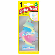 Magic Tree Little Trees Car Home Air Freshener Scent - COTTON CANDY New