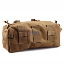 Molle Bag Attach to Combat Gear Vest Belt Tactical Military Outdoor Pouch Tan