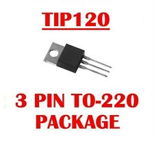 TIP120 TIP 120 NPN DARLINTON POWER TRANSISTOR (Qty 10)