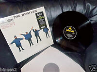 THE BEATLES HELP ! ALBUM UNPLAYED MINT REMASTERED STEREO YELLOW BLACK LABEL