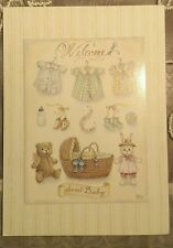 Holly Pond Hill Rabbit Welcome Sweet Baby Card Susan Wheeler #2