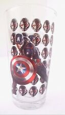 Marvel Avengers Age Of Ultron Captain America Boy's Drinking Glass Cup Tumbler