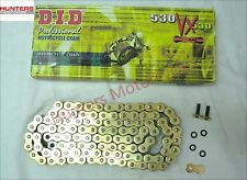 Honda CB1000R DID Gold X-Ring Chain (50VXGB116)