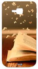 CUSTODIA COVER CASE PAGINE LIBRO VOLO UCCELLI BOOK PER LG OPTIMUS L9 II 2 D605