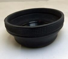 58mm Lens Hood collapsible Rubber for normal 50mm lenses (damaged)