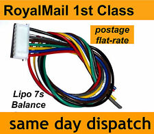 Lipo Balance Lead for repairing battery pack 7s JST-XH 8-Pin, 7-cell 25.9V 22AWG