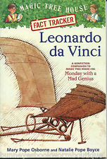 FACT TRACKER Leonardo daVinci MAGIC TREE HOUSE New RESEARCH GUIDE Paperback BOOK