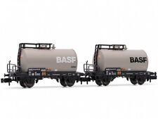 2-teiliges Set Kesselwagen BASF DB Ep.IV // Arnold HN6312 // Spur N