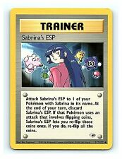 Sabrina's ESP 117/132 Unc. Trainer Gym Heroes Unlimited Pokemon Cards NM