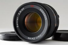 Near Mint Contax Carl Zeiss Sonnar T* 85mm f2.8 MMJ Lens w/Case for CY F/S #N327