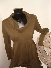 @SKFK @ Skunkfunk @ asymmetrisches Stretch Kleid khaki @ Gr.4 @ L/40@Lagenlook@