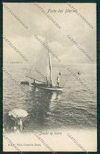 Lucca Forte dei Marmi cartolina QQ2638