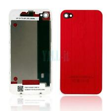 New Replace Back Housing Cover Assembly Suit for iPhone 4G 4 CDMA Version Red