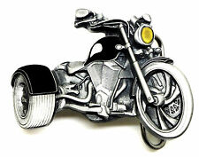 Trike Belt Buckle 3D Custom Rider Dragon Designs Bike Biker Bones * UK Seller *