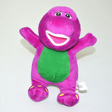 "7"" Barney Dinosaur Sing I LOVE YOU Song Soft Plush Doll Kids Children Baby Toy"