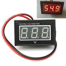 Red Golf Cart Digital Voltage Meter battery Gauge 36v/48v Volt Club Car 15V-120V