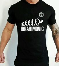 Ibrahimovic t-shirt homme zlatan manchester united t-shirt