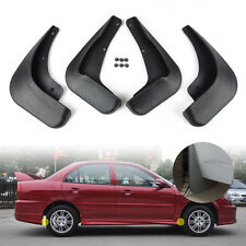 FIT FOR 2007 06 05 04 03 MITSUBISHI LANCER SEDAN MUD FLAP SPLASH GUARDS MUDGUARD