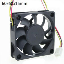 12V 60mm 6cm 3 Pin PC Cooling Fan Cooler Ball Bearing Connector for PC Desktop ⊹