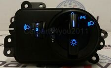 FORD FIESTA / FUSION BLUE LED HEADLIGHT SWITCH FRONT & REAR FOGS