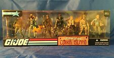 Assault On Cobra Island GI Joe RAH 25th 7 Figure BBTS Exclusive Box RARE