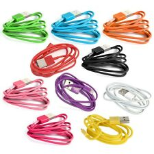 6Ft Lightning USB Data Cable Charger Sync Cord For Apple iPhone 5 5S 6 6S Plus +