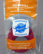 New Bluestar Small Oval RED Fleece Eyepiece Eye Cushion Viewfinder Eyecushion